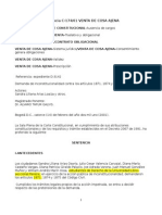 Sentencia C- 174 de 2001-