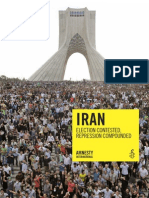 Amnesty International - Rapport Iran 2009