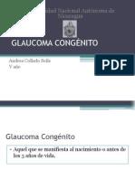 Glaucoma Congénito- Presentacion