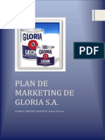 Plan de Marketing Gloria s.a.