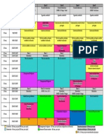 horaire et minutage - smb - 2014-2015