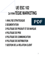 FOD ESC 102 1 Analyse Strategique