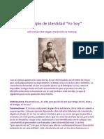 """El Principio de Identidad """"Yo Soy"""" Entrevista a Sri Parameshwar"""