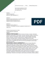 Conteudo programatico 2014
