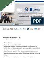 Macroeconomia y Politica Economica Sesiones 8-16 Vf1
