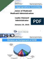 DHW Medicaid 1-19