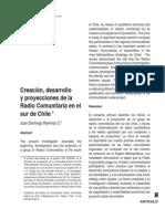 creación, desarrollo. Radios comunitarias sur de chile.pdf