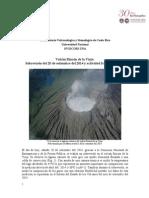 Sobrevuelo Volcán Rincón de la Vieja 20 set. 2014.
