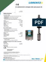 LORENTZ PS200 Hr-14 Pi Pt Ver301071
