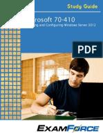 Microsoft 70- 410 Study Guide