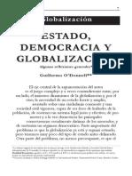 O`DONELL - Estado, democracia y globalizacion.pdf