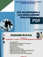 Presentacion Ley de Imp a Las Operac Financieras