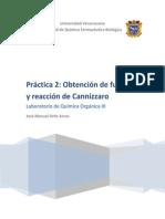 Práctica 2- Obtención de furfural y reacción de Cannizzaro.docx