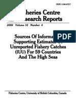 IUU Supporting Estimates Report (FCRR 2008)