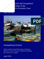 Illegal, Unreported and Unregulated Marine Fish Catches in the Indian Exclusive Economic Zone