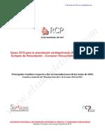 NuevasRecomendaciones2010RCPERC
