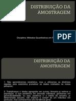 Aula - Distribuição Da Amostragem
