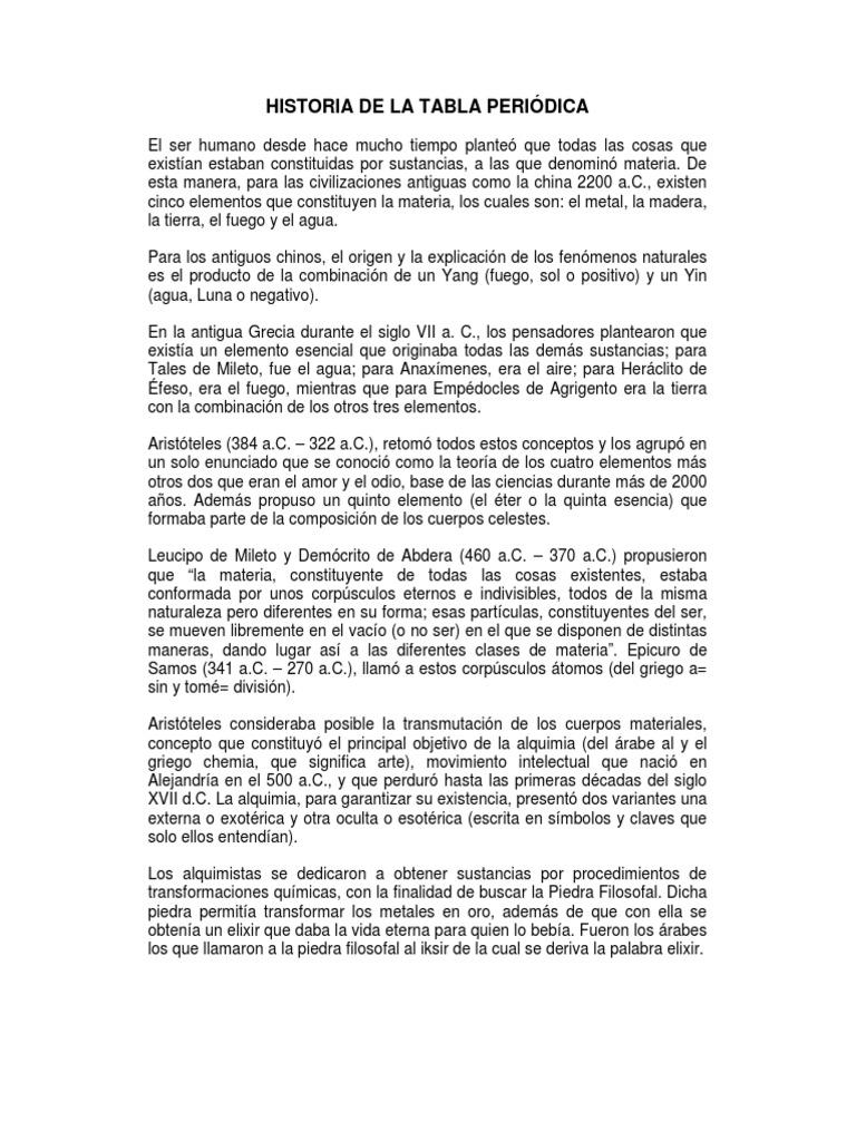 historia de la tabla peridica 1 copy - Tabla Periodica Concepto De Metales