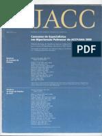 Consenso de Hipertensão Pulmonar 2009 - JACC
