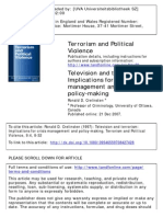 Crelisten Television & Terrorism Implications for Crisis