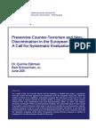 ICCT Eijkman Preventative CT and Non Discrimination EU July 2011