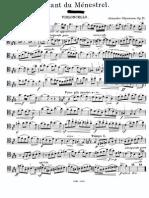 Glazunov - Chant du Ménestrel
