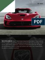 2014 SRT Viper Brochure