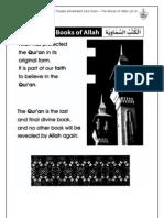 Grade 1 Islamic Studies - Worksheet 2.4.2 Iman - The Books of Allah (Pt 2)