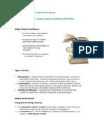 Types of Documentsime