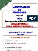 Administracion Parte Uno Cap 01 Panorama 2014-1