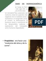 El Naturalismo en Hispanoamérica