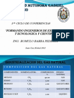 Industrializacion Del Gas Natural Final