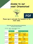 ctl parent orientation