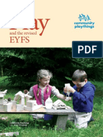 PLAY and the Revised EYFS Web
