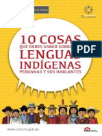 10 Cosas Que Debes Saber Sobre Lenguas Indigenas