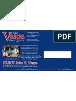 John Vespa postcard side 2