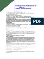Tipos de Patologías a Nivel Psíquico