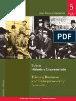 Boletin Historia y Empresariado No 5
