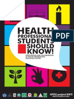 Health Student Should Know
