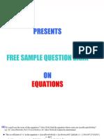 Equations Bank