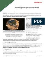 5 Avances Tecnologicos Marcaran 2014