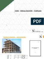 ESTRUCTURACION - IDEALIZACION - CARGAS.pptx
