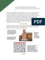 Conheça Os Sistemas de Impermeabilização de Fundações Diretas