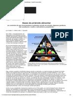 Bases Da Pirâmide Alimentar - Scientific American Brasil