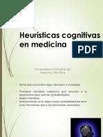 Heurísticas Cognitivas en Medicina