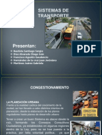 Presentación 2 Sistemas de Trasporte