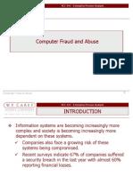 Computer Fraud & Abuse