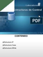 Presentacion - Base de Datos II - Estructuras de Control