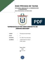 Teoría de Aprendizaje Por Descubrimiento de Jerome Bruner