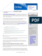 PDF Feature Power Shell Toolkit
